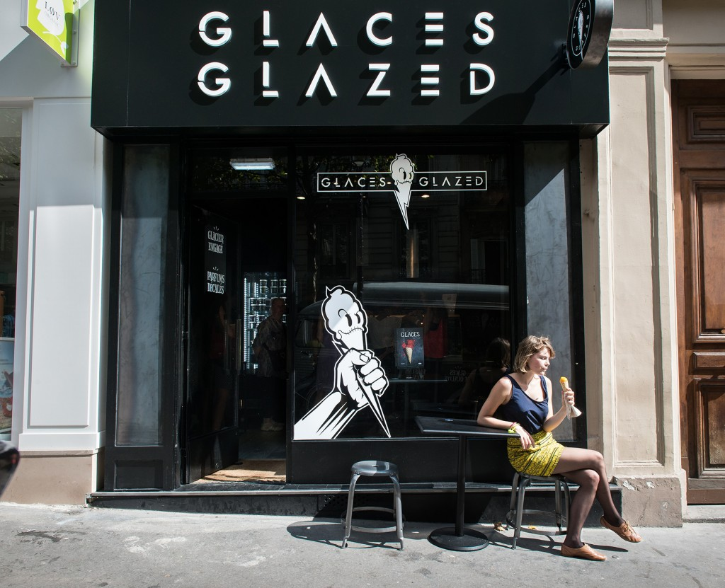 Boutique Glazed terrasse