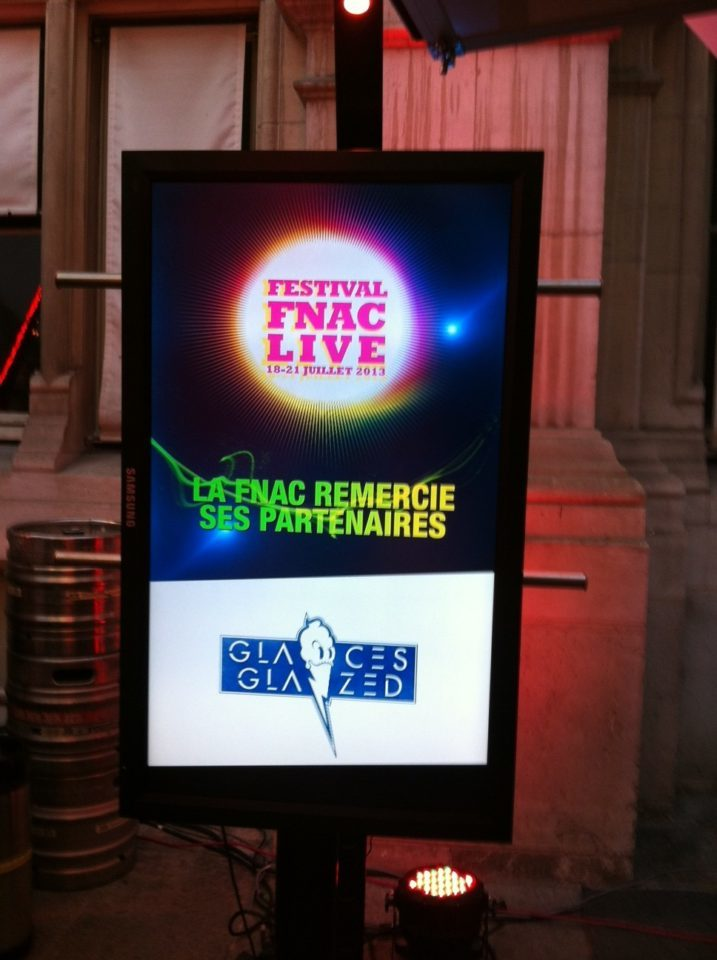 Glazed partenaire du Fnac Live Festival