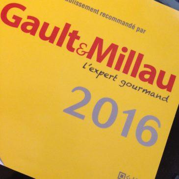 Glazed recommandé par le Gault & Millau 2016