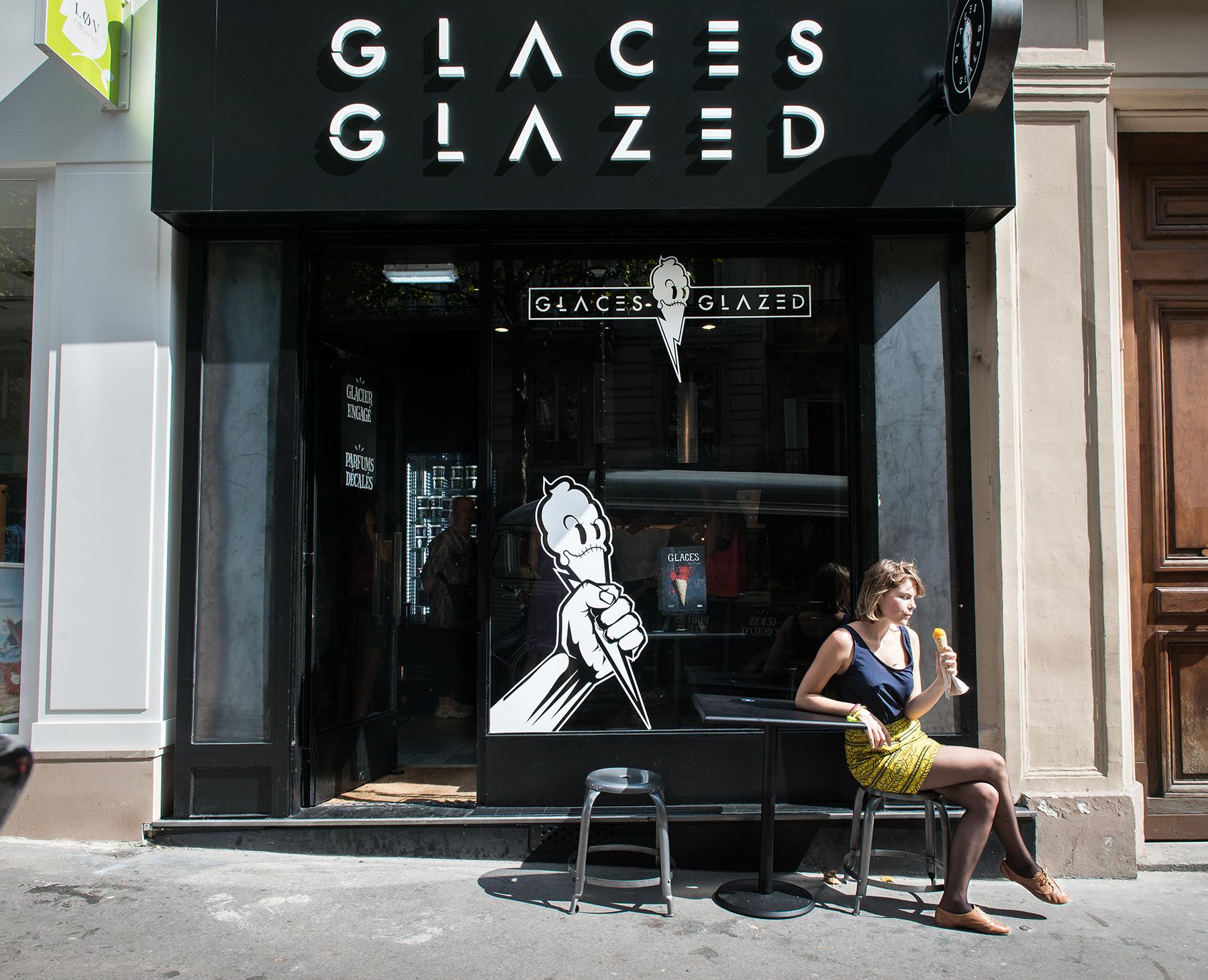 Boutique Glazed terrasse