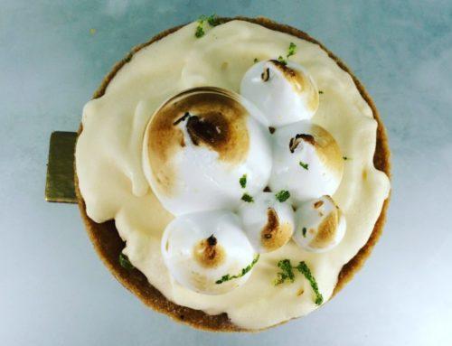 Tarte glacée au Citron Meringué