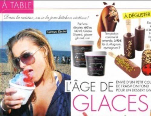 Glazed dans Voici – Juillet 2012