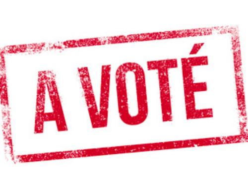 23-04-2017 : A voté