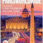 Couverture Magazine Paris Worldwide Aout 2019