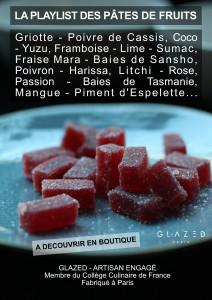 pâtes de fruits Glazed