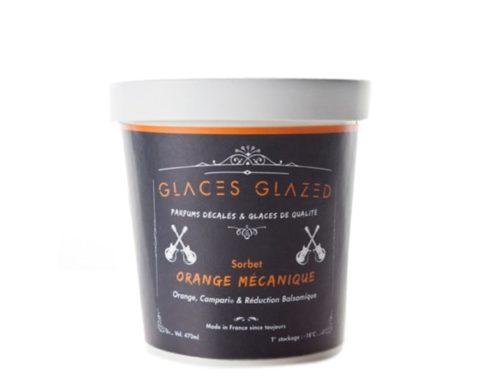 Sorbet orange- campari- vinaigre balsamique : Orange Mécanique